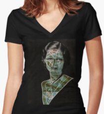 WXMAN Women's Fitted V-Neck T-Shirt