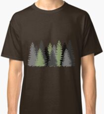 Pine Trees in a Forest Classic T-Shirt