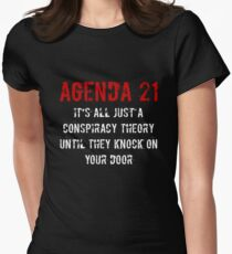 Agenda 21 United Nations Climate Change Conspiracy T-Shirt T-Shirt