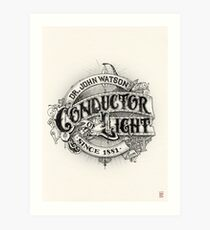 Conductor of Light Art Print
