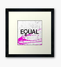 Womens rights Framed Print