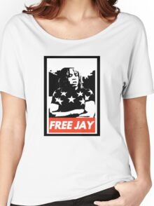 Free lil jay Women's Relaxed Fit T-Shirt