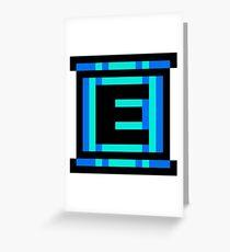 Rockman / Megaman - Energy Tank Greeting Card