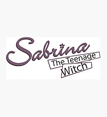 Sabrina the Teenage Witch Photographic Print