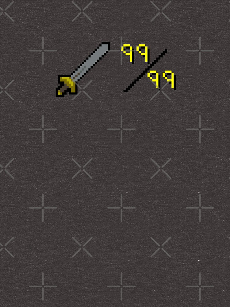 Oldschool Runescape 99 Attack By Nottheclock