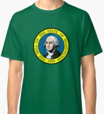 Flag of Washington State Classic T-Shirt
