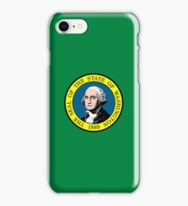 Flag of Washington State iPhone Case/Skin