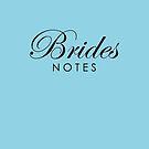 Sky Blue Brides Notebook by Melissa Park