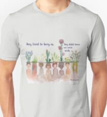 """They Tried to bury Us"" Water Colour T-Shirt"