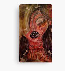 Gorey Girl Canvas Print