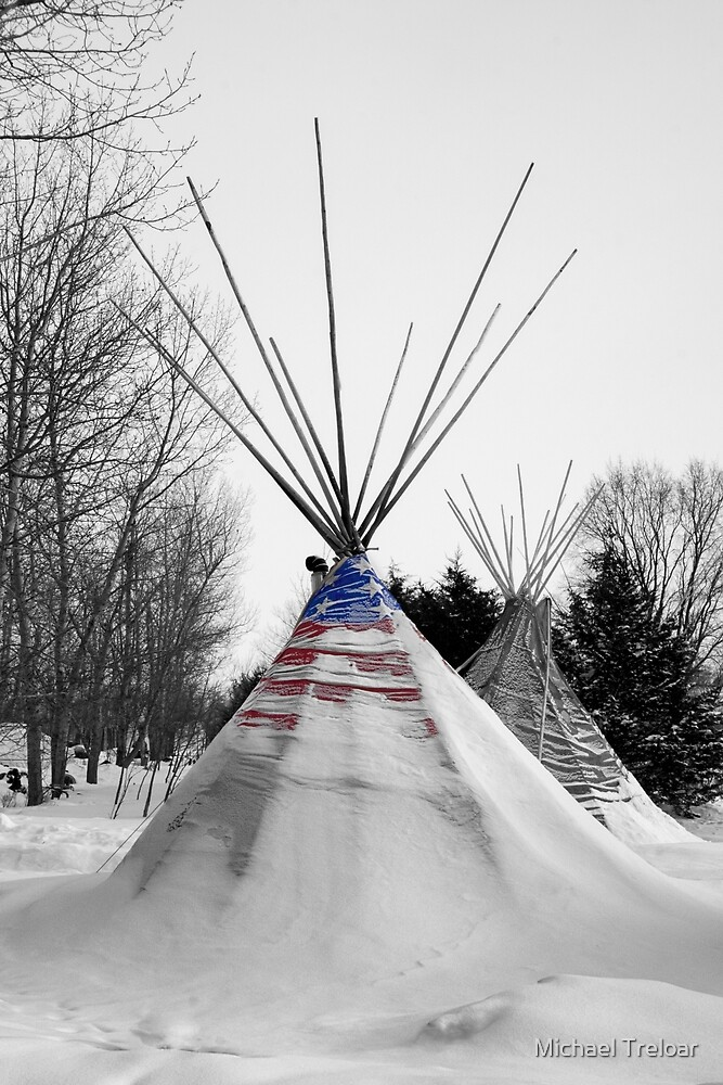 Stand Strong - North Dakota by Michael Treloar