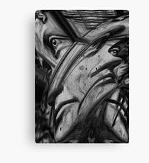 Face the Track Canvas Print