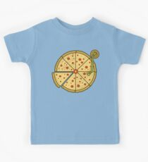Pizza Vinyl Kids Tee