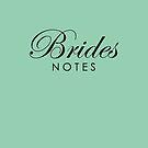 Brides Journal Notebook Dusk Green by Melissa Park