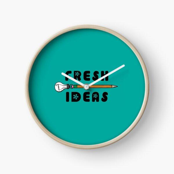 Fresh Ideas - Blue Clock