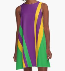 Panisregis Purpura A-Line Dress