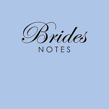 Blue Violet Brides Notebook by lollly
