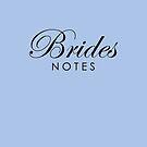 Blue Violet Brides Notebook by Melissa Park