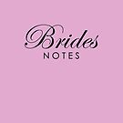 Pink Lilac Brides Notebook by Melissa Park