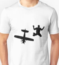Skydiver jump - funny skydive t shirts Unisex T-Shirt
