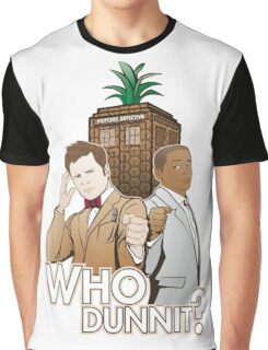 Who Dunnit? Psych Doctor Who Graphic T-Shirt