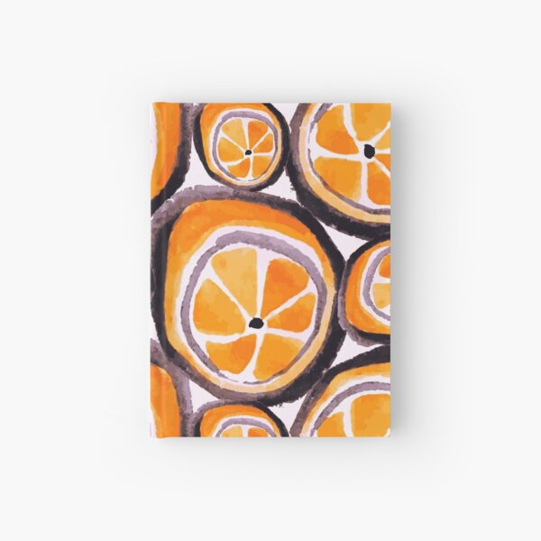 Bunch O' Oranges Hardcover Journal