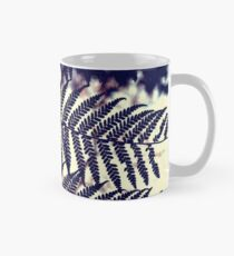 Fern Leaves in Silhouette Mug