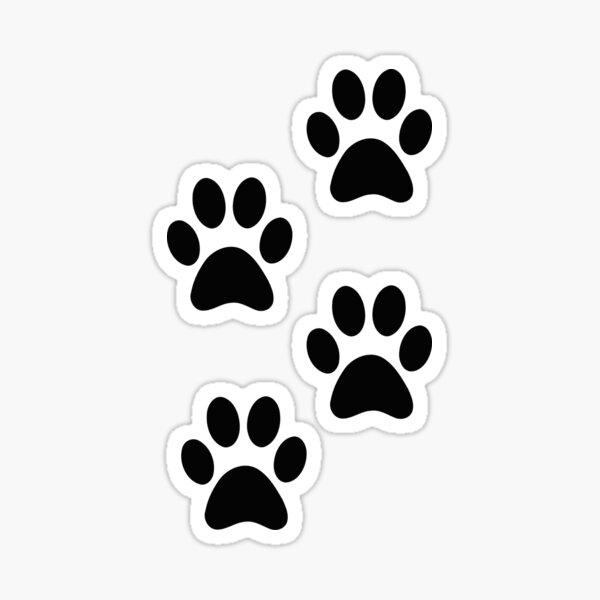 Paw Tracks Sticker