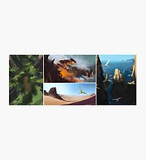 Pokemon Speedpaints Photographic Print