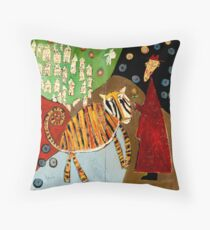 Fables - The Tiger Throw Pillow