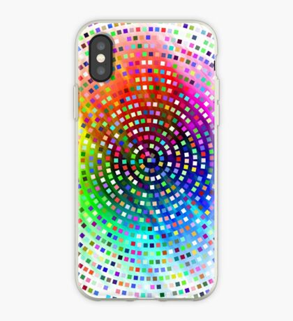 Color Swirl by Julie Everhart iPhone Case