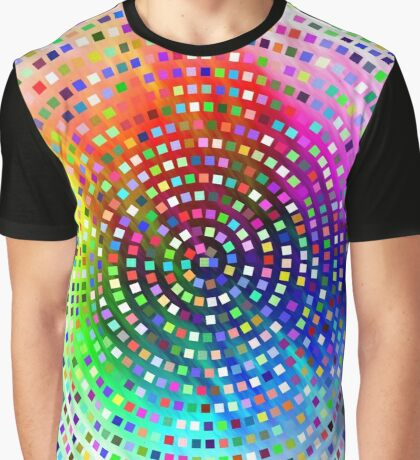 Color Swirl by Julie Everhart Graphic T-Shirt
