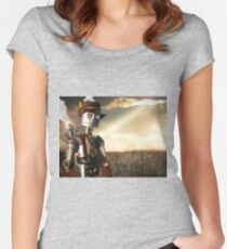 The Tin Man of Oz Women's Fitted Scoop T-Shirt