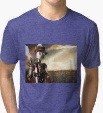 The Tin Man of Oz Tri-blend T-Shirt