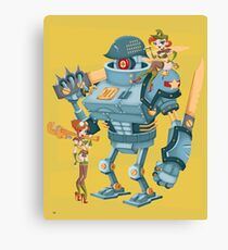 Bot Girls Canvas Print