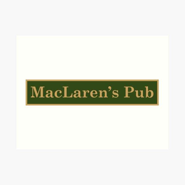 MacLaren's Pub Art Print