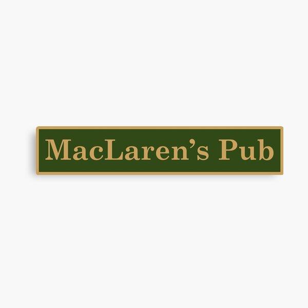 MacLaren's Pub Canvas Print