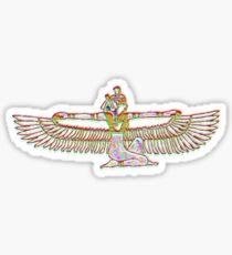 Isis egyptian goddess Sticker
