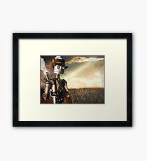 The Tin Man of Oz Framed Print