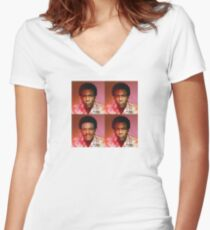 Childish Calrissian Women's Fitted V-Neck T-Shirt