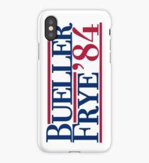 Bueller & Frye '84 iPhone Case