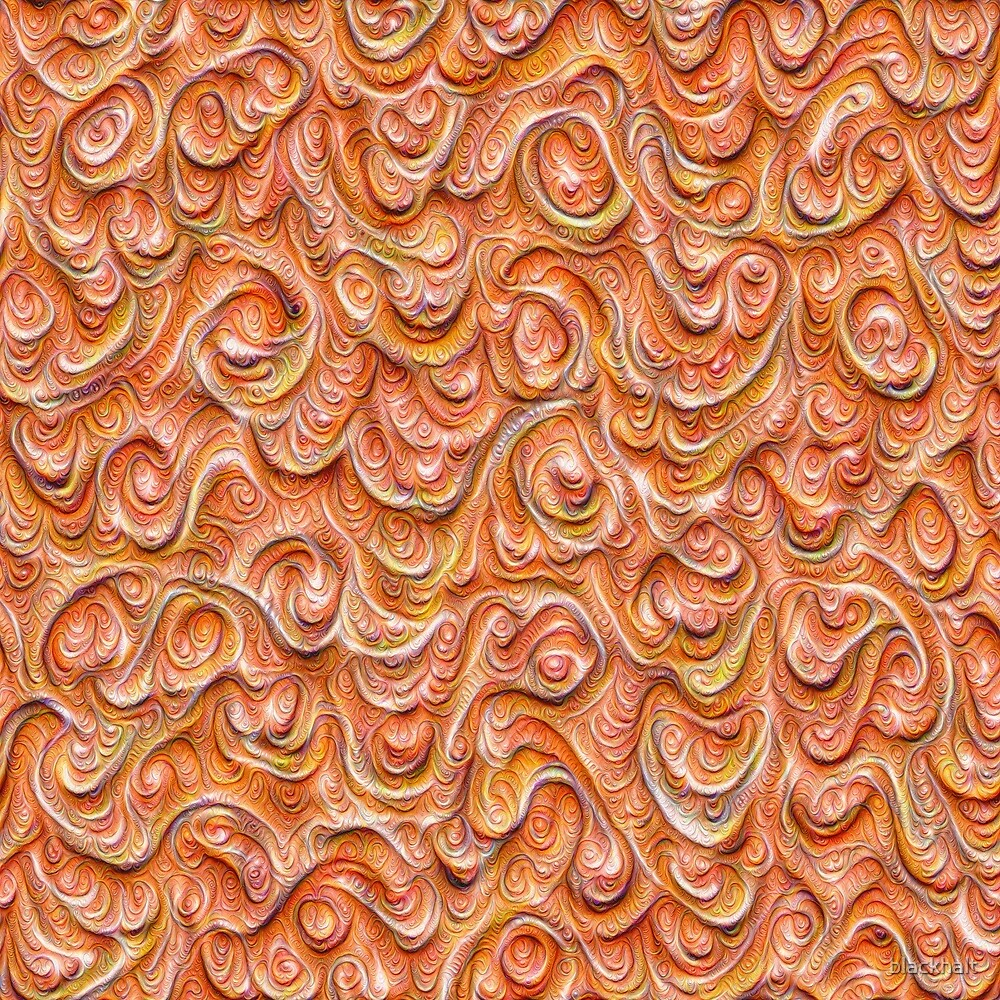 Surface texture #DeepDream #Art Red by blackhalt