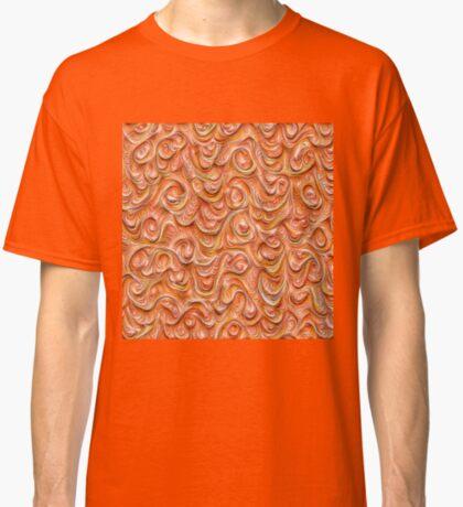 Surface texture #DeepDream #Art Red Classic T-Shirt