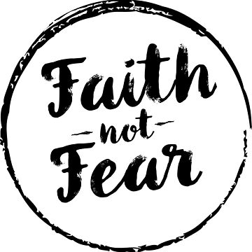 Faith Not Fear Christian Shirt by christianshirts