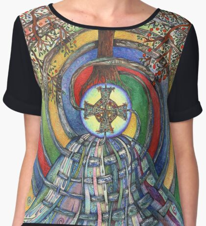 Christ Centred Living Women's Chiffon Top