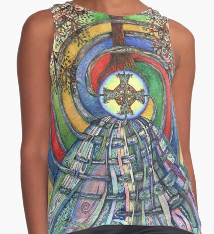 Christ Centred Living Contrast Tank