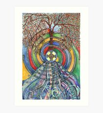 Christ Centred Living Art Print