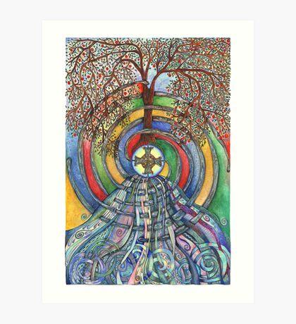 Christ Centred Living Art Print