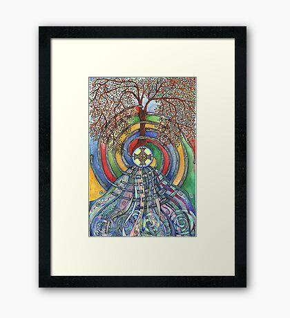 Christ Centred Living Framed Print