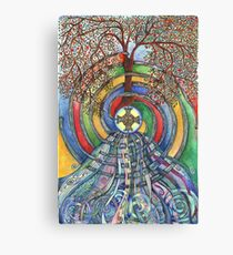 Christ Centred Living Canvas Print